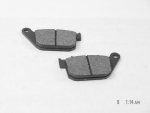 Disc Brake Pads fits Harley XL 2004-07 (Rear)