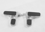 Chrome Billet Foot Pegs Multi Fit 82 & Up