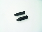 Black Billet Retro 40's O-Ring Foot Peg