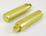 Brass Plated Stunt Foot Pegs