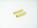 Brass Plated Diamond Foot Pegs