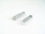 Chrome Billet Ball & Mill Foot Pegs
