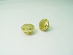Brass Plated Techno Gas Cap Fits 1982-Up Left and Right