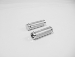 Chrome Knurled Grips Fits All Harley Models From 1982-2007