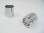 "Chrome Barrel Roadking Muffler 3 1/2"" End Tip"