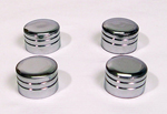 Chrome Cylinder Bolts Covers For 1985-1999 Evo. Models