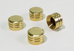 Part#0408 Solid Brass Cylinder Head Bolts Cover For 1999-up Twin Models