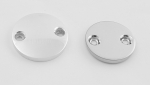 Round Inspection Cover Set for Harley Sportsters 91-93