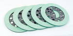 Mean Green Clutch Friction Plage Set For Big Twin 1941-E1984 Models Set Includes 5 Plates. A Long Proven Compound