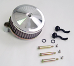 Chrome Holley Air Cleaner Assembly For Big Twin Evolution 2000-Up