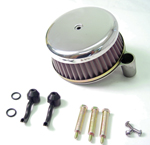Chrome Plain Air Cleaner Assembly Fit  Big Twin 2000-Up