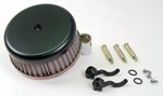 Black Plain Air Cleaner Assembly Fit  Big Twin 2000-Up