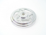 Chrome Swirl Air Cleaner Top Fits Big Twins Evolution 1984-Up