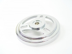 Chrome Tribars Air Cleaner Top Fits Big Twins Evolution 1984-Up