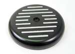 Black Ball and Mill Air Cleaner Top Fits Big Twins Evolution 1984-Up