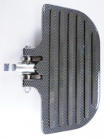 Universal Mini Floorboard Carbon Fibre Plated