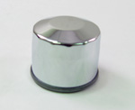 Oil Filter- Chrome for Harley Big Twin 1980-84