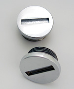 Sportster Outer Primary Cover Plugs