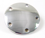 Five-Hole Points Cover fits Harley Big Twin 1999-up