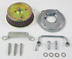 Air Cleaner Kit fits 1992-07 Harley Evolution 1340 models with stock CV carburetor