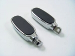 Oval Billet  Foot Peg Male End Harley Davidson Big Twins & Sportster