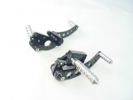 Forward Control Black Anodized Softail,Tribal Pegs 70-99 Std extended