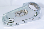 Chrome Outer Primary Cover  for Harley FXST 1999-2006
