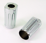 Fork Covers Billet Deep Cut Chrome Fits Road King Models
